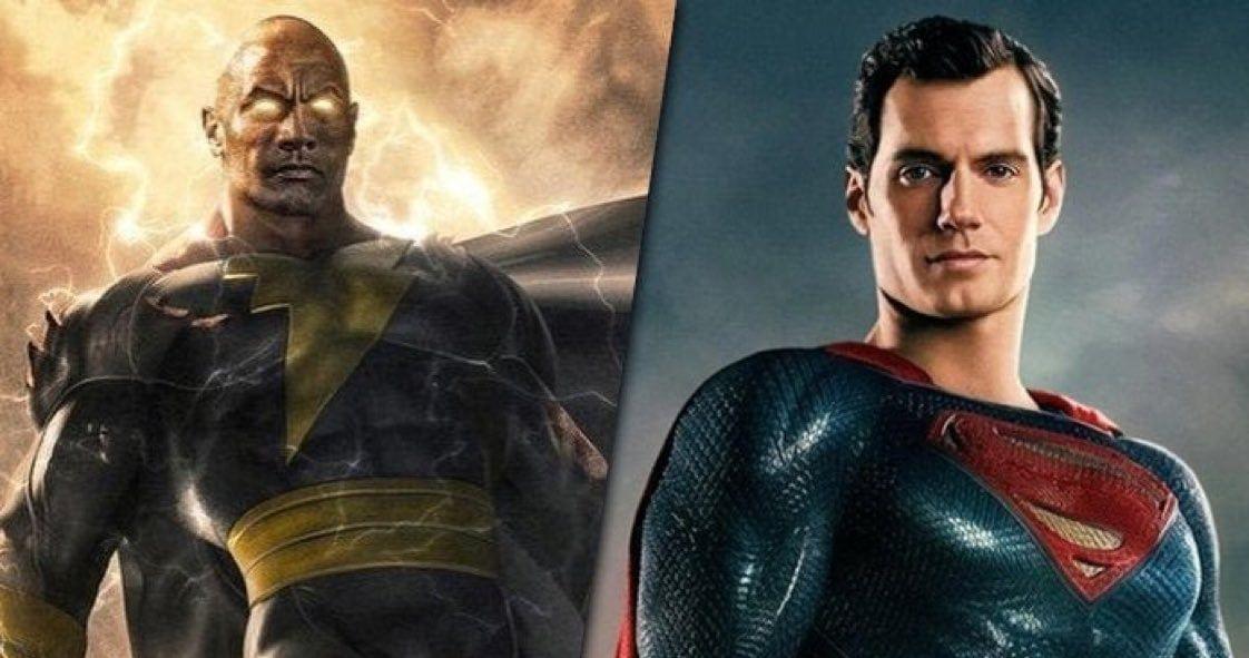 It's Superman Vs. Black Adam in New Epic Fan Art, Who Would Win?