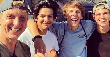 Cobra Kai Cast Reunites on Instagram as Season 2 Gets Underway