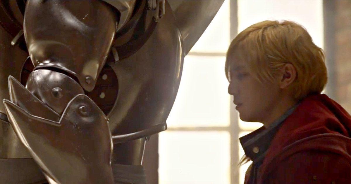 Fullmetal Alchemist Live-Action Movie Trailer Has Arrived