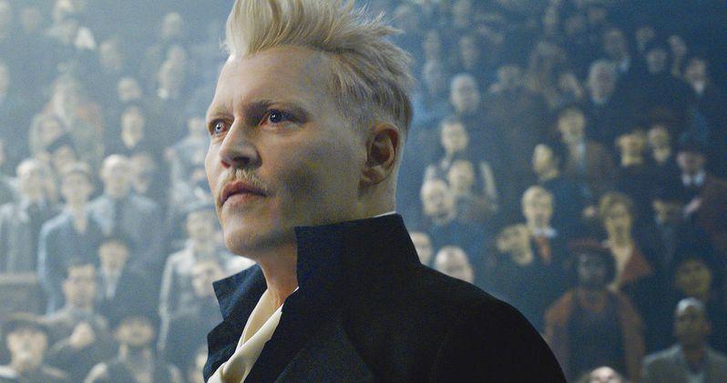 Watch Johnny Depp Transform Into Fantastic Beasts 2 Villain at Comic-Con