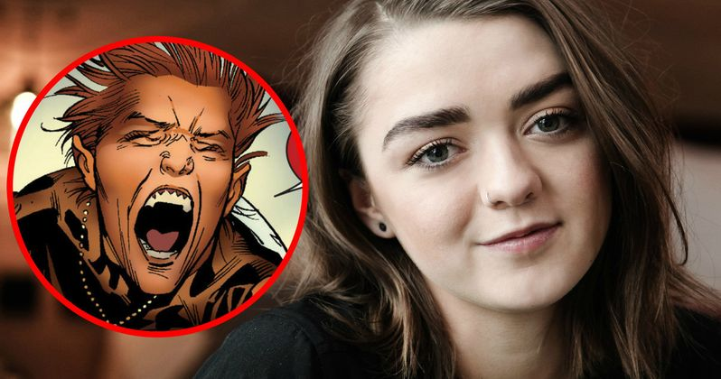 New Mutants Gets Game of Thrones Star Maisie Williams as Wolfsbane?