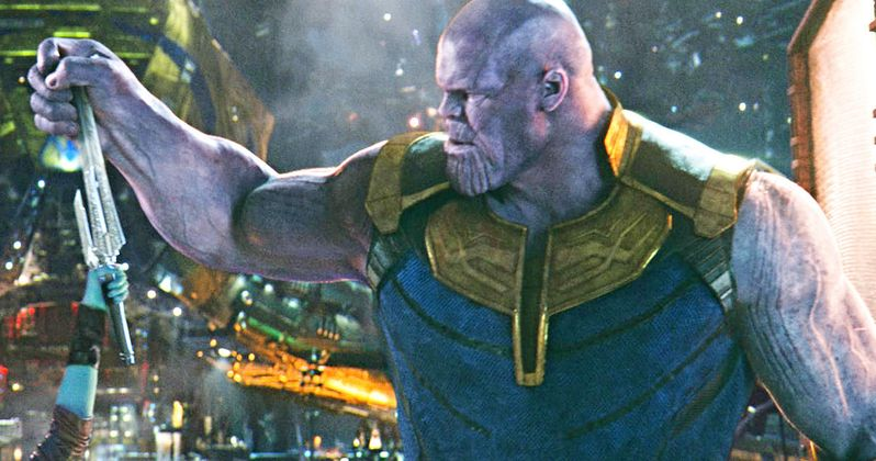 Thanos Test Footage Shows Off Infinity War Villain's Evolution