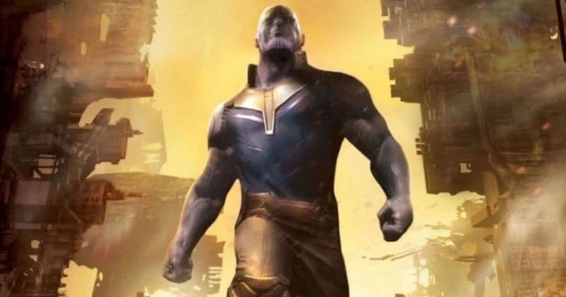 Young Thanos Emerges in Unused Infinity War Concept Art