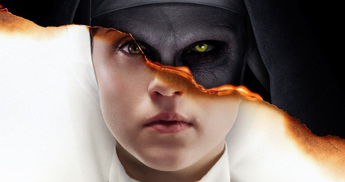 """3 Sizes Movie Poster 2018 Horror /""""The Nun/"""" Demian Bichir Full Color"""