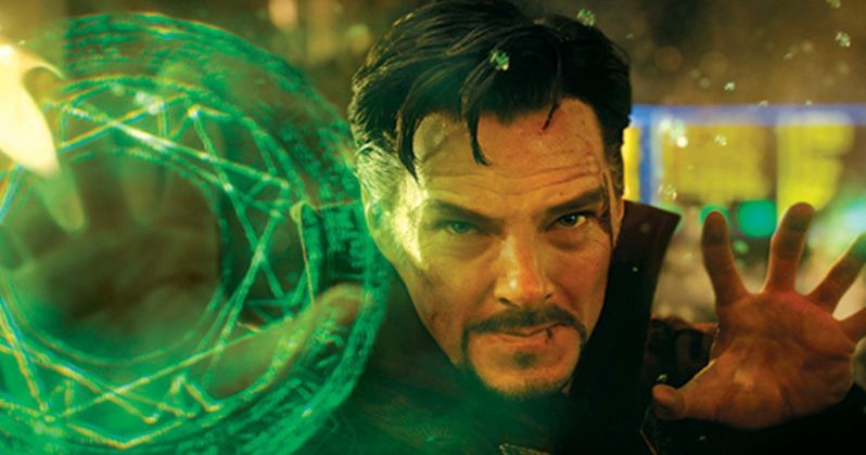 New Doctor Strange Photos Arrive, Cumberbatch Talks Superpowers