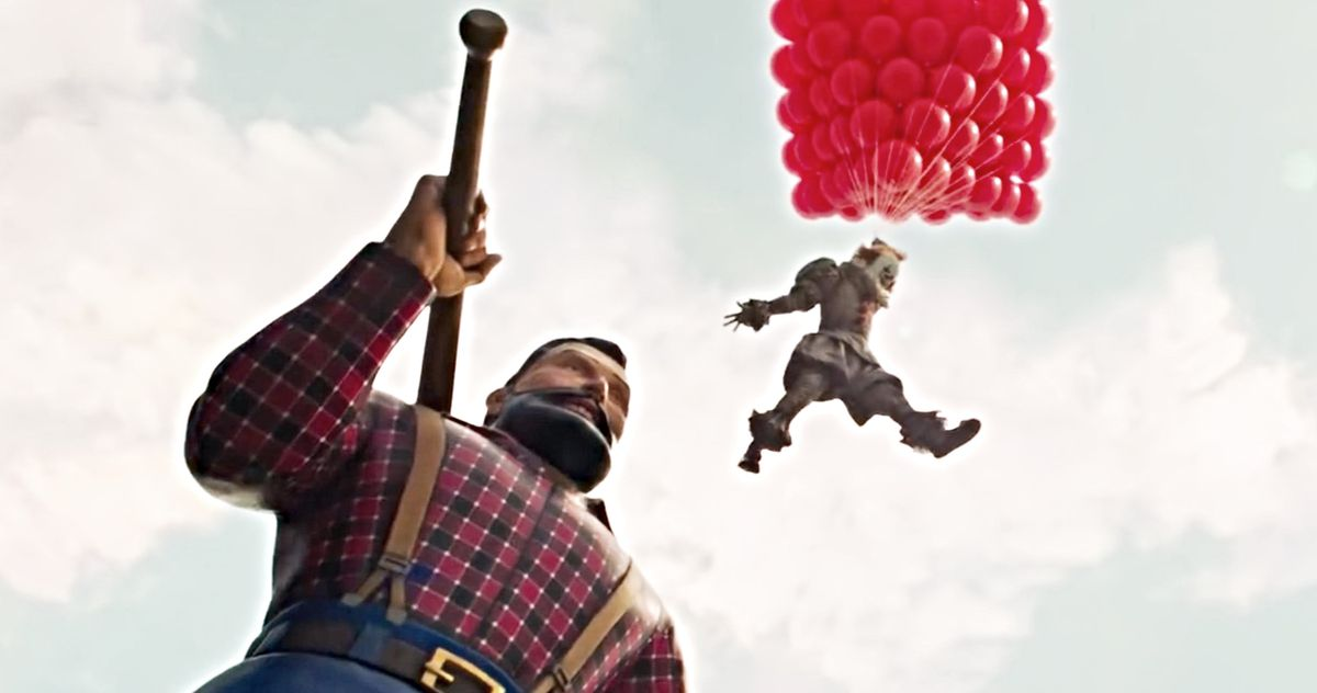IT Chapter Two International TV Trailer Teases Iconic Paul Bunyan Attack