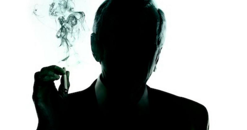 The X-Files Poster: The Cigarette Smoking Man Returns