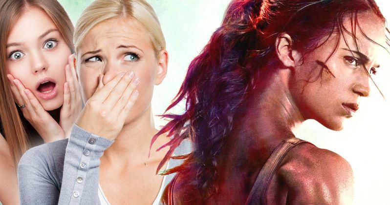 Lara Croft Fans Slam Disastrous Tomb Raider Reboot Poster