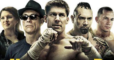 Kickboxer Vengeance Poster Teams Bautista & Van Damme