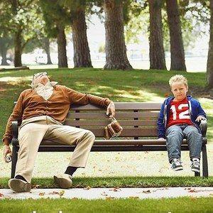 Third Jackass Presents: Bad Grandpa Poster