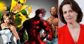 Sigourney Weaver Is the Villain in Marvel's Defenders Netflix Series