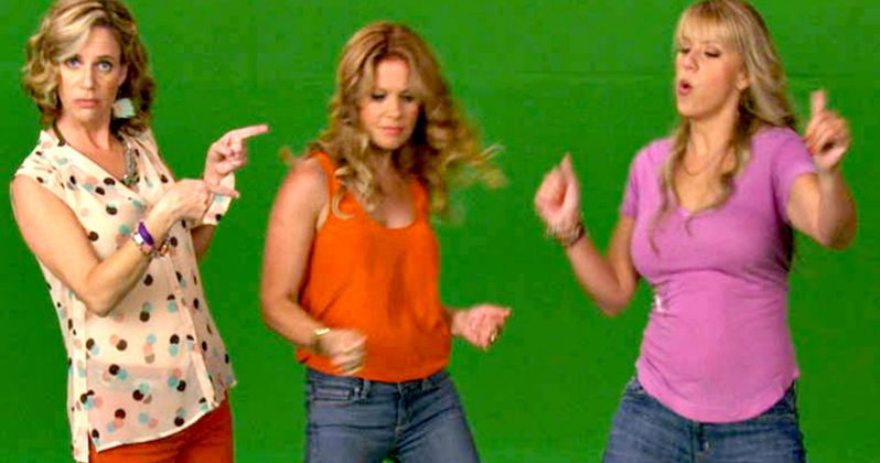 Watch the Fuller House Sisters Throw a Whip/Nae Nae Party