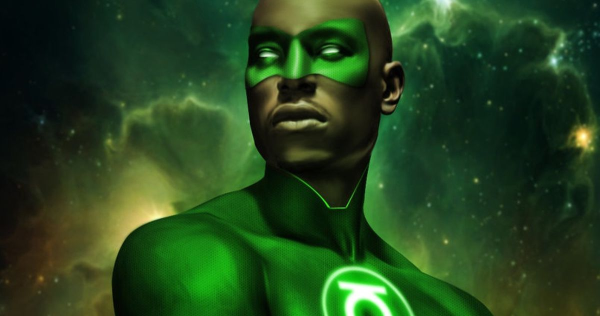Justice League Green Lantern John Stewart Zack Snyder