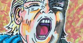 Jim Carrey Shows Off Nightmarish Trump Portrait He Sent to Smithsonian