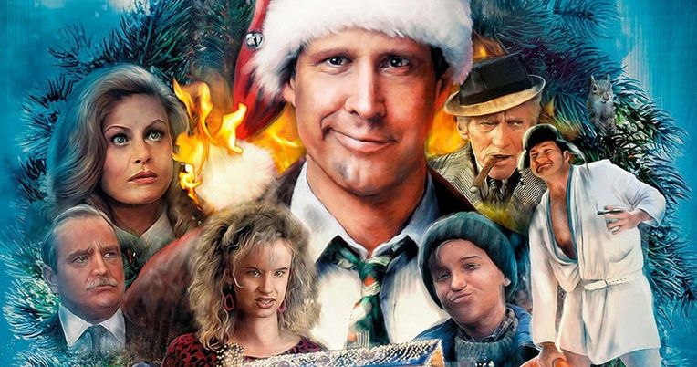 Christmas Vacation Light Display Causes Panic with Hanging Clark Griswold