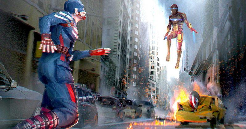 Iron Man & Captain America Face Off in Civil War Promo Art
