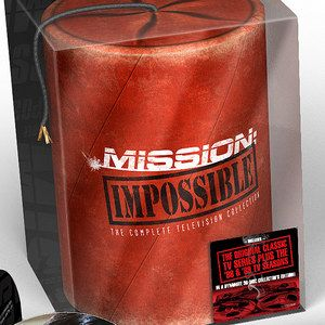 Mission: Impossible - The Complete Television Collection Gift Set DVD Arrives December 11th