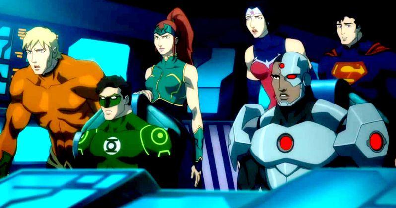 Justice League: Throne of Atlantis Trailer
