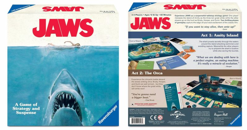 Jaws Board Game Swims Into Target, Play as the Shark or the Heroes