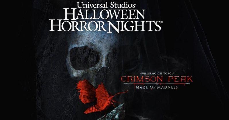 Crimson Peak Maze Is Coming to Halloween Horror Nights