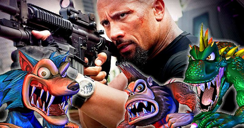 The Rock's Rampage Is Going to Be One Big, Crazy Monster Movie