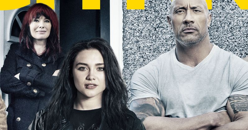 Fighting with My Family Poster Has The Rock & Paige Ready to Rumble