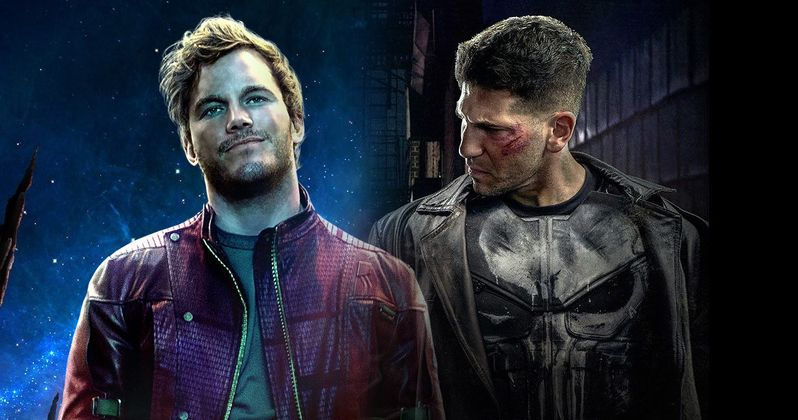 Chris Pratt Wants Star-Lord to Meet Punisher in Avengers 3