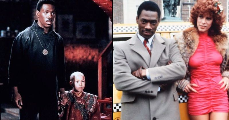 Eddie Murphy Reunites with His Golden Child & Trading Places Co-Stars