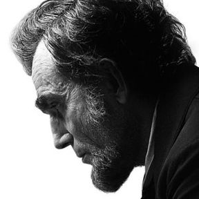 Lincoln Poster with Daniel-Day Lewis