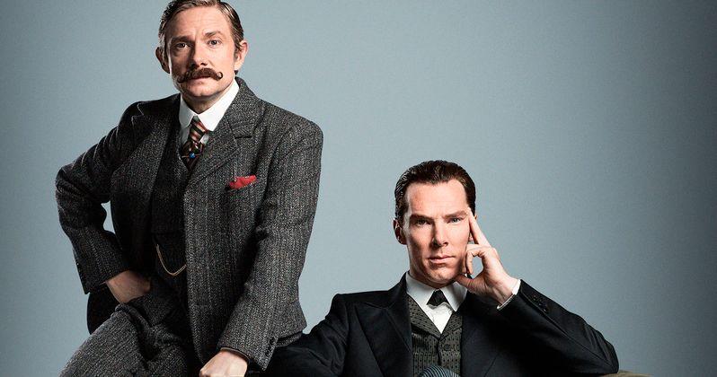 Sherlock Christmas Special Photo Reunites Cumberbatch & Freeman