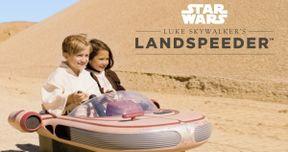 Luke Skywalker's Landspeeder for Kids Is What You've Always Wanted