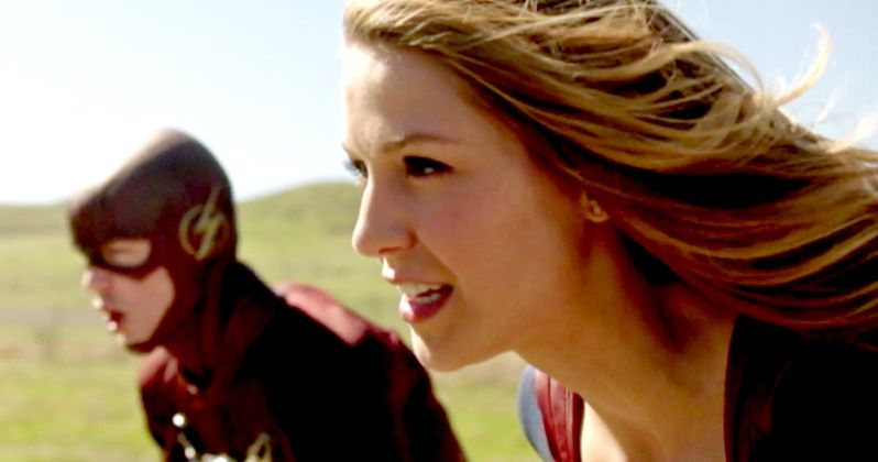 Supergirl Races The Flash in New DC Crossover Trailer