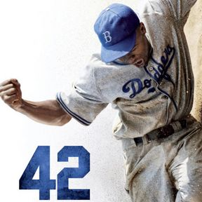 42 Poster Featuring Chadwick Boseman as Jackie Robinson
