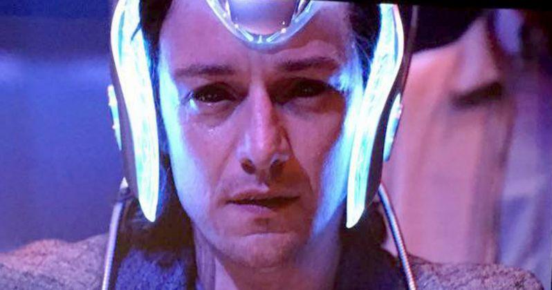 Singer Teases X-Men: Apocalypse Trailer with Cerebro Photo