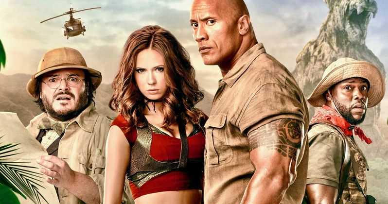 Jumanji 3 Wraps Production as Kevin Hart & The Rock Share Final Set Videos