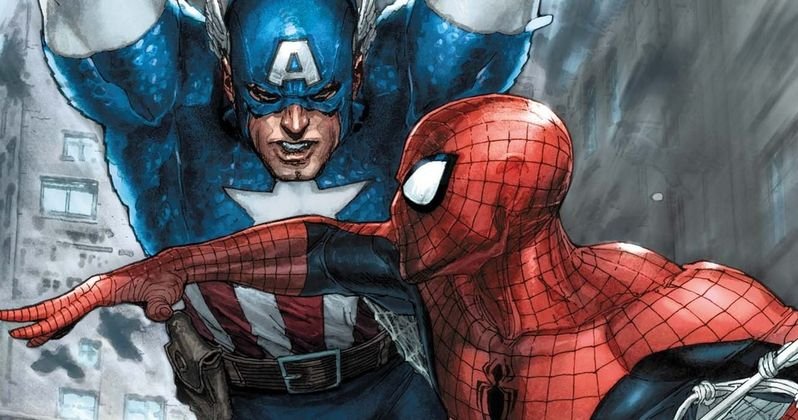 Has Spider-Man Cameo Wrapped on Captain America: Civil War?