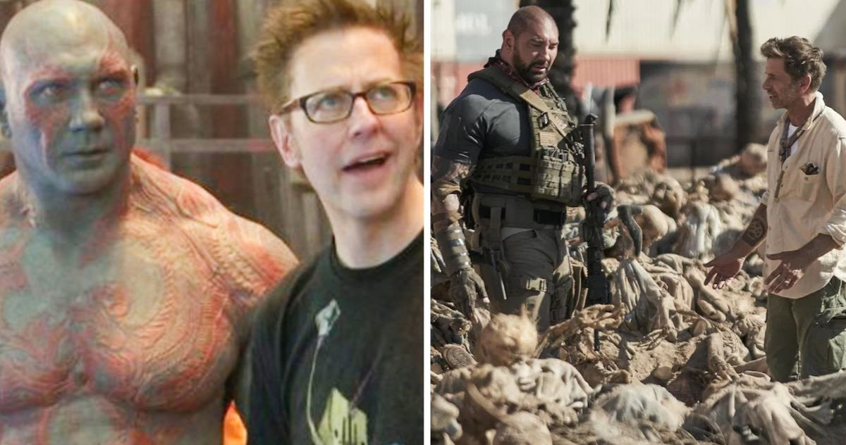 Dave Bautista Compares James Gunn Zack Snyder