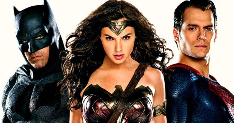 Batman v Superman: New Look at Wonder Woman & Lex Luthor