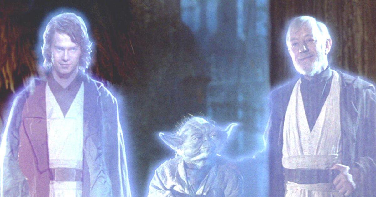В состав режиссера «Последнего джедая» входит Призрак силы Энакина