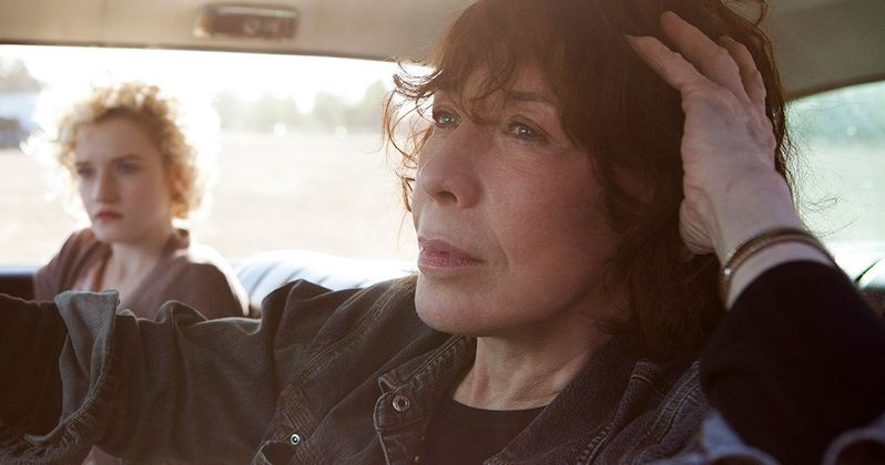 Grandma Clip Starring Lily Tomlin and Nat Wolff