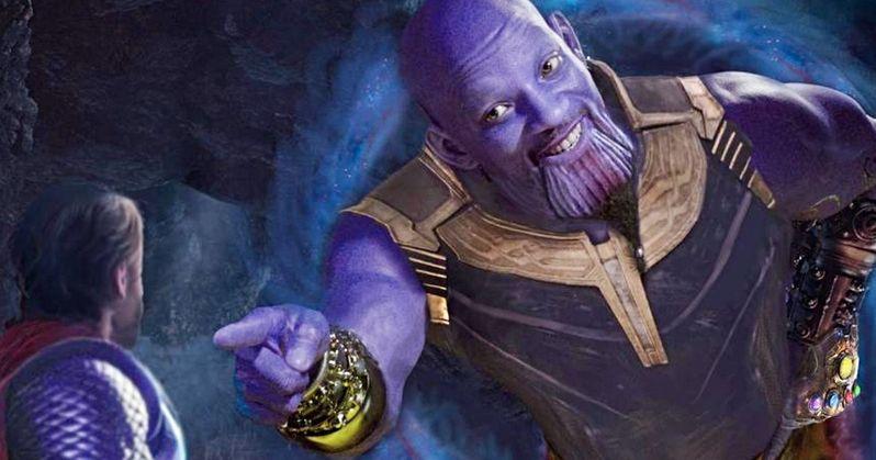 Endgame Meets Aladdin Fan Art Turns Will Smith's Genie Into Thanos