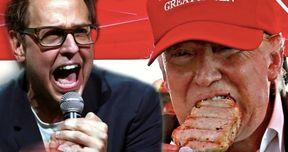 Director James Gunn Offers Trump $100K to Climb on Scale