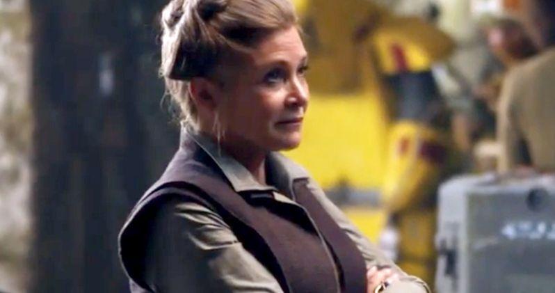 Star Wars 7 Comic-Con Video Has Princess Leia & Han Solo