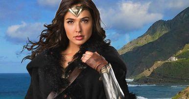 Wonder Woman 1984 Set Photo May Provide Character Clues