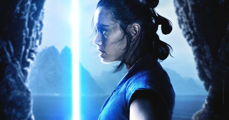 Leaked Star Wars 8 Scenes Reveal Big Trouble for Rey?