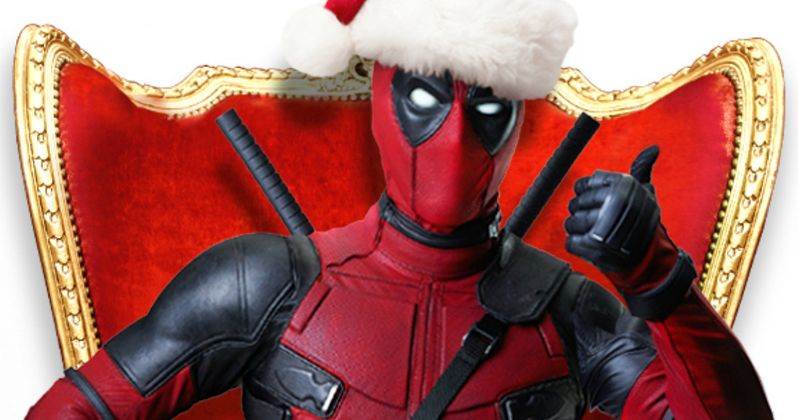Celebrate 12 Days of Deadpool with Ryan Reynolds' Christmas Photos