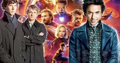 Infinity War Almost Had a Sherlock Joke
