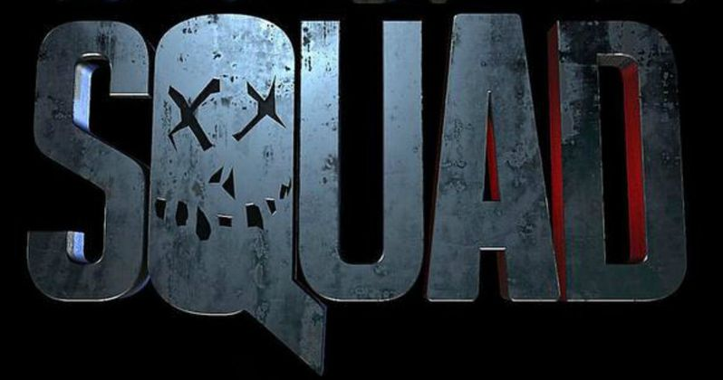 Suicide Squad Logo Goes on Display at Comic-Con
