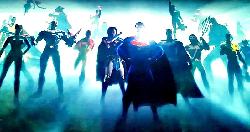 New DCEU Intro Hints at Green Lantern in Justice League