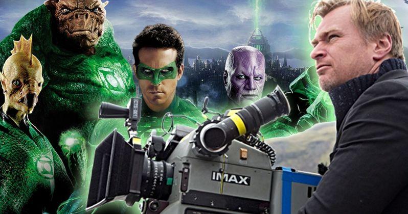 Is Christopher Nolan's Secret Movie Green Lantern Corps.?